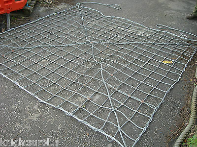 Cargo Net Helicopter Lifting Climbing Galvanised Steel Wire Rope Very Heavy Duty