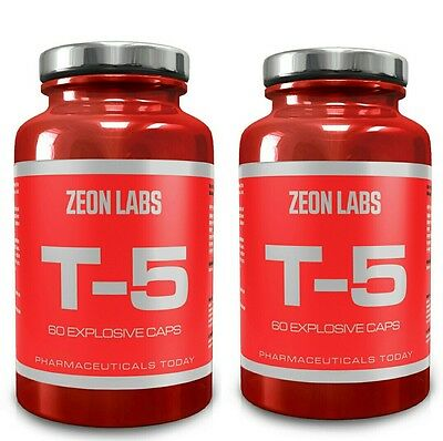 X2 Tubs Zeon Labs T5 Fat Strippers / Metabolism Boosters/ Pre-Workout/zion Labs