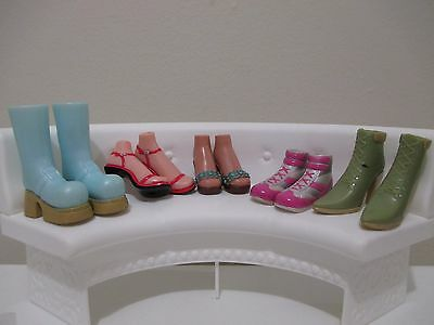 bratz doll girls shoes boots for 10 inch lot #4