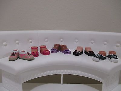 bratz doll shoes boots for 6 inch lot #19
