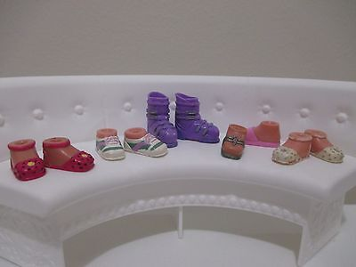 bratz doll shoes boots for 6 inch lot #20