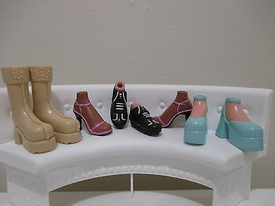 bratz doll girls shoes boots for 10 inch lot #14