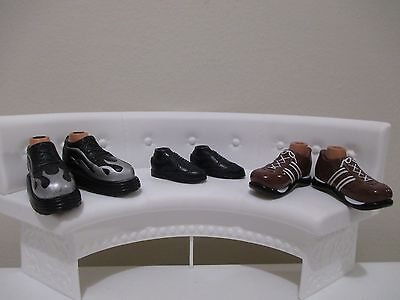 bratz doll BOYS shoes boots for 10 inch lot #18