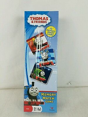 Memory Match Game by Thomas and friends  72 cards