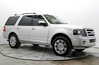 2012 Ford Expedition Limited 4WD Limited 4X4 Pwr 3rd Row Nav Htd & AC Seats Sync Pwr Moonroof & Boards 46K Save