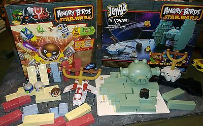 ANGRY BIRDS STAR WARS parts bits NOT complete