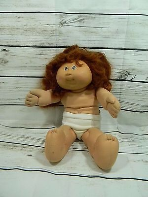 Vtg 1978/1982 Coleco Cabbage Patch Kids Doll Brown Hair