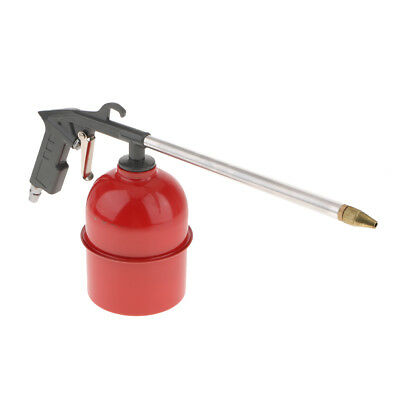 Air Engine Gun Cleaning Washer Kit Tool with 6 Siphon House Cleaner - Gray