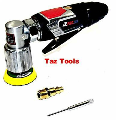 """2"""" Air Angle Sander With Backing Pad 90° Head Adjustable 4-Speed 15000rpm"""
