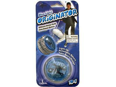 Blue Light Originator Yo Yo Auto Return System Peter Fish Tricks Toys Yo-Yo Yoyo