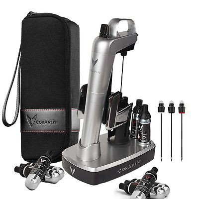 BNWB Coravin Model Two Elite Wine Extraction System Bundle Silver $50 OFF Offer