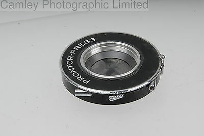 Prontor-Press Copal #1 Shutter 41.6mm. Condition – 5E [3999]
