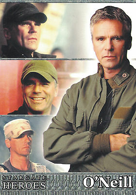 Stargate Heroes Trading Card Set (90 Cards)