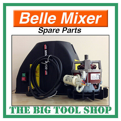 Belle 230V 240V Electric Motor Cover Kit Mini Mix 130 Mixer - Pre August 2002