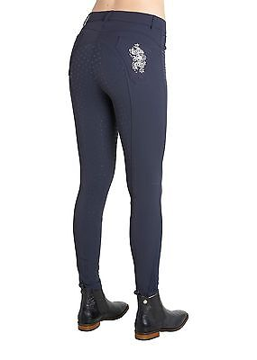 *SALE* Montar Caroline Full Silicone Seat Flower Breeches - RRP £109.95
