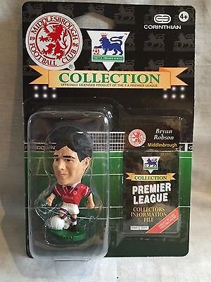 moc / new / sealed BRYAN ROBSON MIDDLESBORO PL35 CORINTHIAN FOOTBALL FIGURE