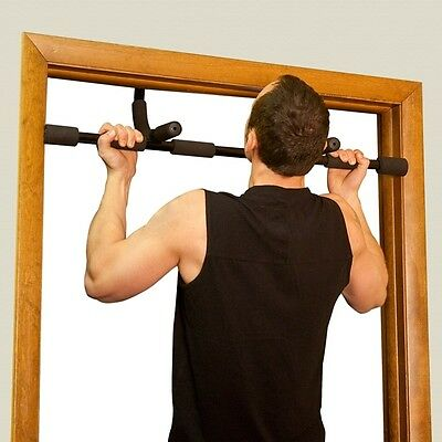 Doorway Pull-Up/Sit-Ups/Push Up Multi Combo Bar - Door Gym Exercise Body Chin