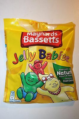 2 x UK Bassetts Jelly Babies 190g each bag