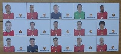 2005-06 Unsigned Man Utd Club Cards - Individually Priced
