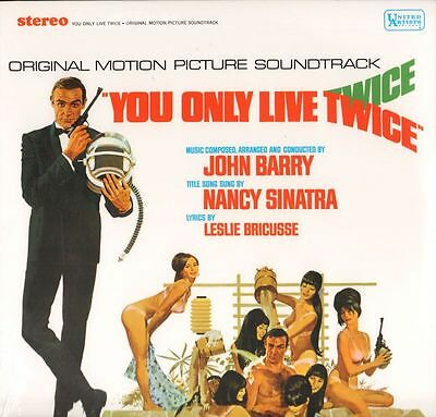 John Barry(Vinyl LP)You Only Live Twice-United Artist-2015-M/M