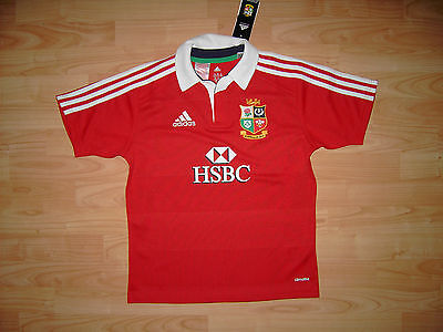 British and Irish Lions Rugby Shirt Australia 2013 Young M 11-12 Yrs Size Jersey