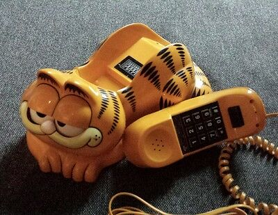 GARFIELD Cat - Telephone Phone works perfect 1981. Looks Awesome. V Rare