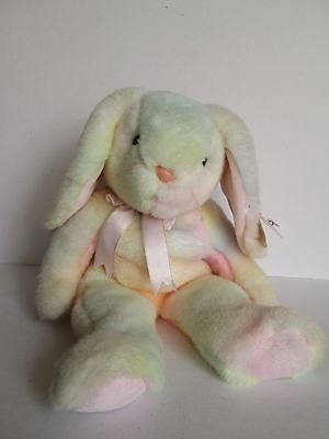 Ty Beanie Baby Hippie Beanie Buddies Collection Large Rabbit First Ty Dyed 1999