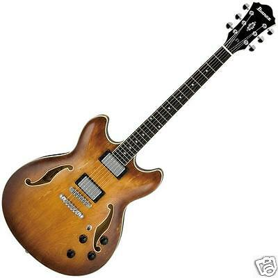 Ibanez AS73 Artcore Thin Hollow Body Electric Guitar Tobacco Brown NEW