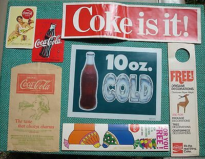 Coca Cola Lot Coke is it! Sticker COLD Sign BOTTLE PROTECTOR CHRISTMAS HOLIDAY