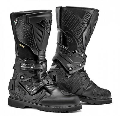 Sidi Adventure 2 GTX Gore-Tex Waterproof Touring Motorbike Boots - Black