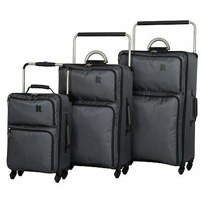 Worlds Lightest 4 Wheel Soft Case - Charcoal - Small / Medium / Large - Argos