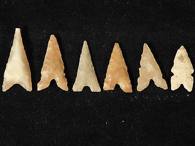 A Lot of Very Nice Ancient North African Arrowheads or Points! 4.27
