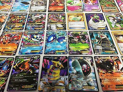 Pokemon TCG:100 CARD LOT RARE, COM/UNC, HOLO & 1 GUARANTEED EX, MEGA OR FULL ART