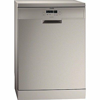 AEG F55500M0 Stainless Steel 12 Place Freestanding Dishwasher