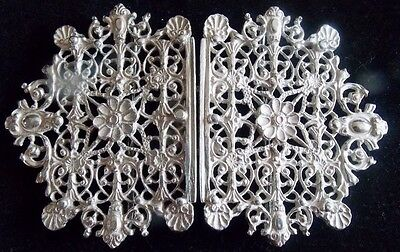 Hallmarked Sterling Silver Nurses Buckle