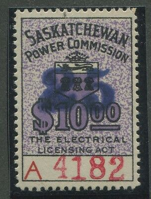CANADA REVENUE SE29a MINT NH DOUBLED HANDSTAMP? UNLISTED