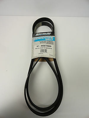 Quicksilver Serpentine Belt, Part # 57-865615Q09