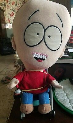 South Park Plush TALKING TIMMY DOLL Wheelchair Used Good Condition