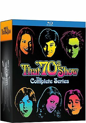 That '70s Show: Complete TV Series Seasons 1 2 3 4 5 6 7 8 Boxed BluRay Set NEW!