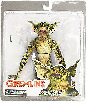 """GREMLINS Series 1 GEORGE 6"""" Action Figure 2011 NECA Mogwais NEW IN STOCK"""