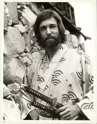 James Clavell Richard Chamberlain Orig Shogun Nbc Press Photo #10