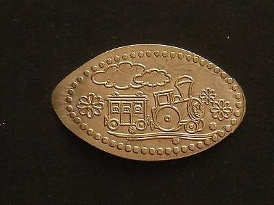 Russia. Have a good trip!. Pressed token.