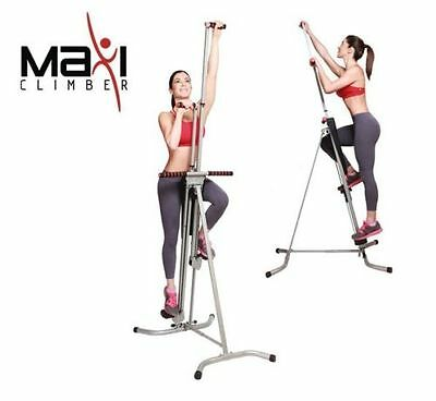 NEW MaxiClimber The Unisex Vertical Climbing Fitness System Maxi Stepper