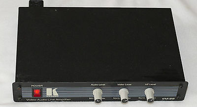 Kramer VM-9S 1:2 Composite Video & Stereo Audio Distributor & Line Amplifier