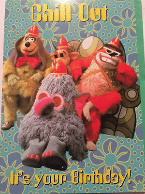 BN The Banana Splits card Chill Out It's Your Birthday