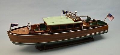 "Dumas 1273 1:12 38"" 1929 Chris Craft 38' Commuter Boat Kit"