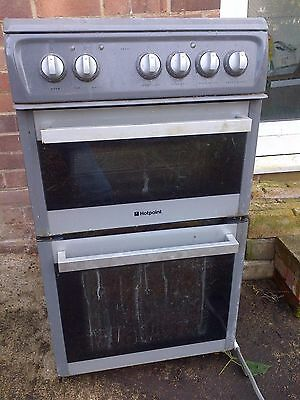 HOTPOINT EW36G Electric 60cm Freestanding Double Oven