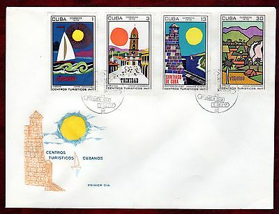 CARIBBEAN STAMPS- Tourism, FDC 1970