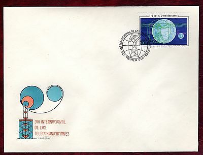 CARIBBEAN STAMPS- World Telecommunication Day ,FDC 1970
