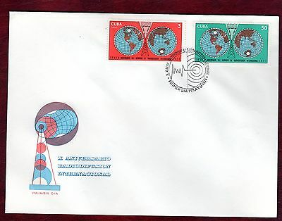 CARIBBEAN STAMPS- International Broadcasting Services  ,FDC 1971